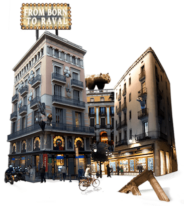 From Born to Raval, Treasure Hunt, Barcelona, Game, Team, Quiz, Tour, Visit, Tourist